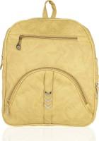 Kleio Elegant Zipper Casual College Bag For Girls / Women 17.67 L Backpack(Yellow)