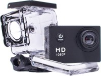 Doodads Action pro D-1080p Full HD Sports Cam Waterproof 30 M (2 Inch Screen) DSLR Camera Super Wide Angle Lens 140 Degree(Black)