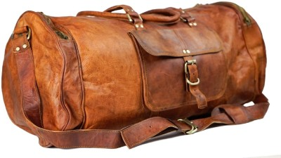 Pranjals House duffle bag for travel (Expandable) Travel Duffel Bag(Brown)