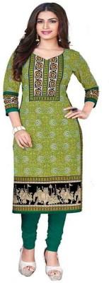 Chatri Fashions Cotton Printed, Floral Print Salwar Suit Material(Un-stitched)