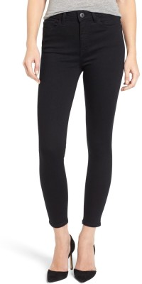 Ansh Fashion Wear Regular Women Black Jeans at flipkart
