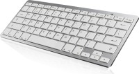 Outre Super Slim Thin Wireless Bluetooth Tablet Keyboard(White)