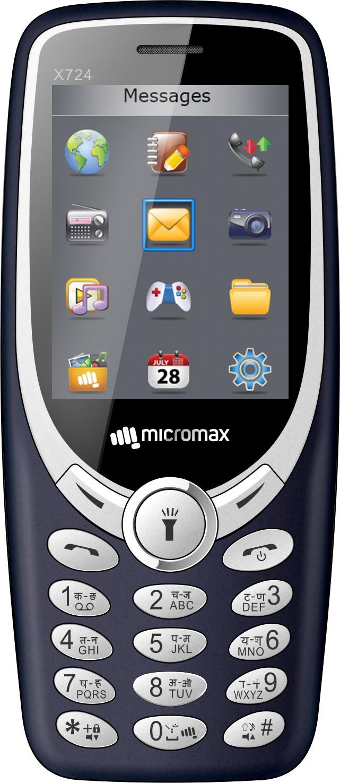 View Micromax X1i-2017(Blue) Mobile Price Online(Micromax)