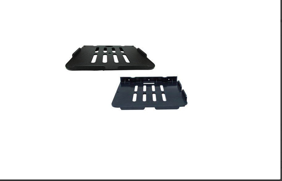 View SBD� BLACK-Pack Of 2 Plastic Wall Shelf(Number of Shelves - 2, Black) Furniture (SBD™)