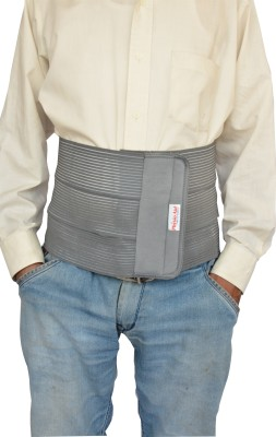 Physio Aid 8 abdominal support delux Waist Support (S, Gray)