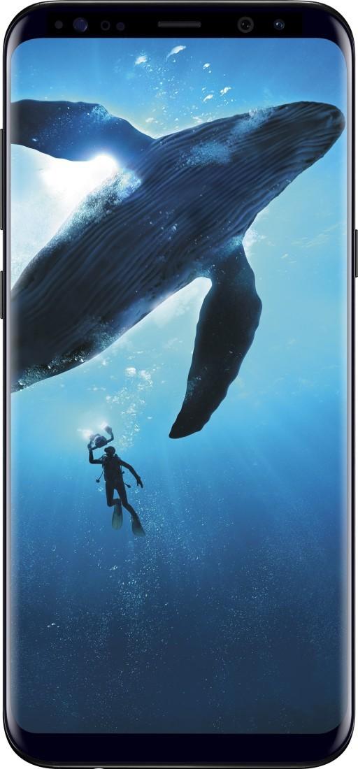 View Samsung Galaxy S8 Plus (Midnight Black, 128 GB)(6 GB RAM) Mobile Price Online(Samsung)