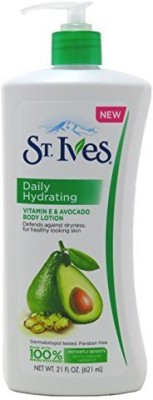 St. Ives St Ives Body Lotion 21ounce Daily Hydrating 2 Pack(621 ml) at flipkart
