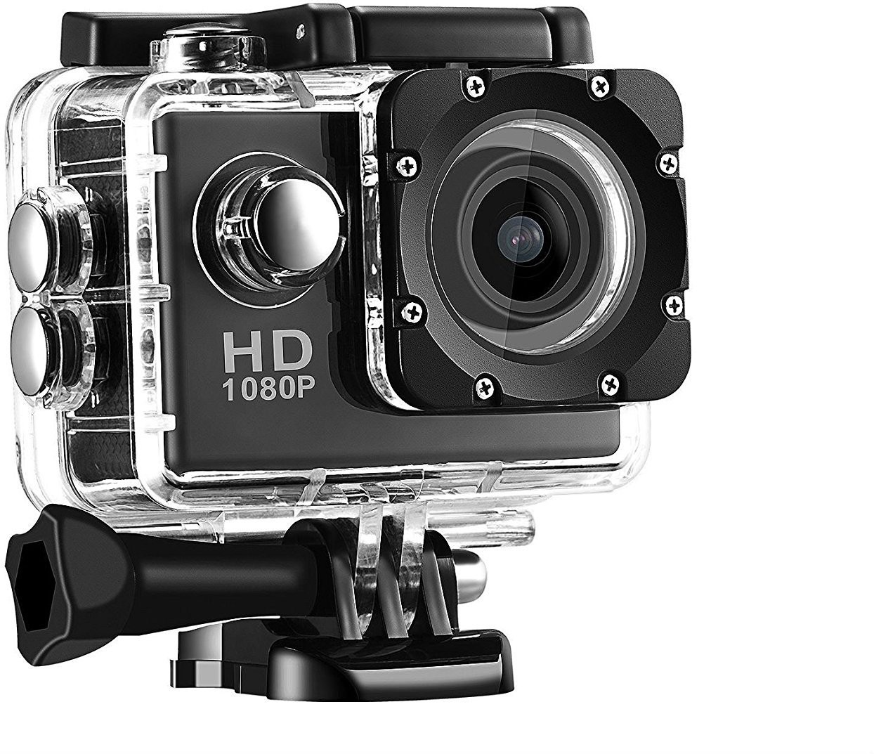 View Doodads Action Pro Waterproof Action Recording Camera Effective 12 MP Sports and Action Camera(Black 12) Camera Price Online(Doodads)
