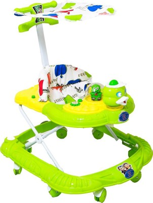 panda Musical Activity Walker With Parent Rod(Multicolor)