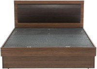 Durian ROBINSON/QB Engineered Wood Queen Bed With Storage(Finish Color -  Walnut)