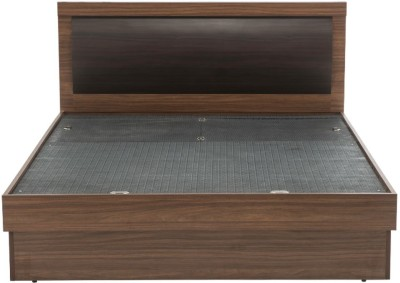 Durian ROBINSON/KB Engineered Wood King Bed With Storage(Finish Color - Walnut)