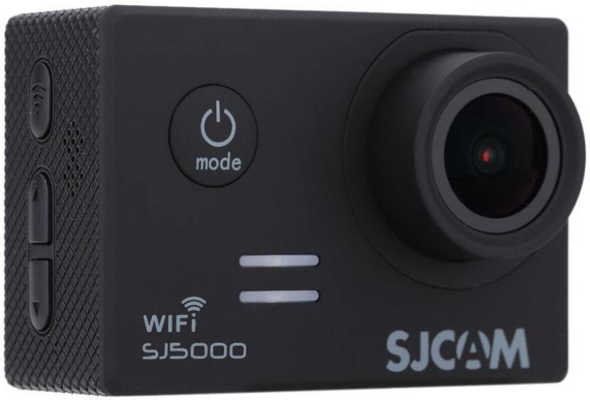 Microware SJCAMSJ5000WIFIBLACK Sports & Action Camera (Black) SJ5000 WIFI Sports & Action Camera(Black)