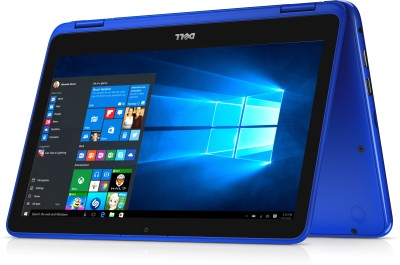 Dell Inspiron 3000 Core M 6th Gen - (4 GB/500 GB HDD/Windows 10 Home) 3169 2 in 1 Laptop(11.6 inch, Blue)