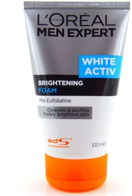 LOreal Men Expert White Activ Brightening Foam Face Wash(100 ml)