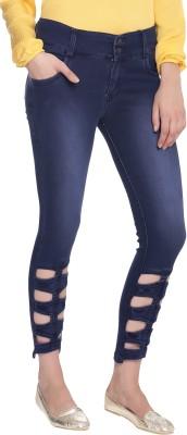 Broadstar Slim Women Blue Jeans at flipkart