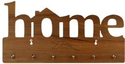 7CR Home KH-6.6 Wooden Key Holder(6 Hooks)