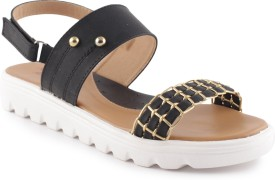 Style Buy Style Women Black Sports Sandals