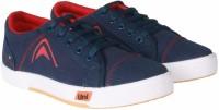 Unistar 5003-Blue Canvas Shoes(Blue)