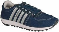 Unistar 603 Denim Casual (Narrow Toe) Canvas Shoes(Blue)