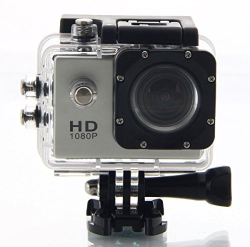 View Doodads Pro D1080 Sports and Action Camera(Black 12 MP) Camera Price Online(Doodads)