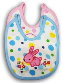 FeatherTouchKids Baby Bib Combo pack of 2, Pink , Blue(Pink, Blue)