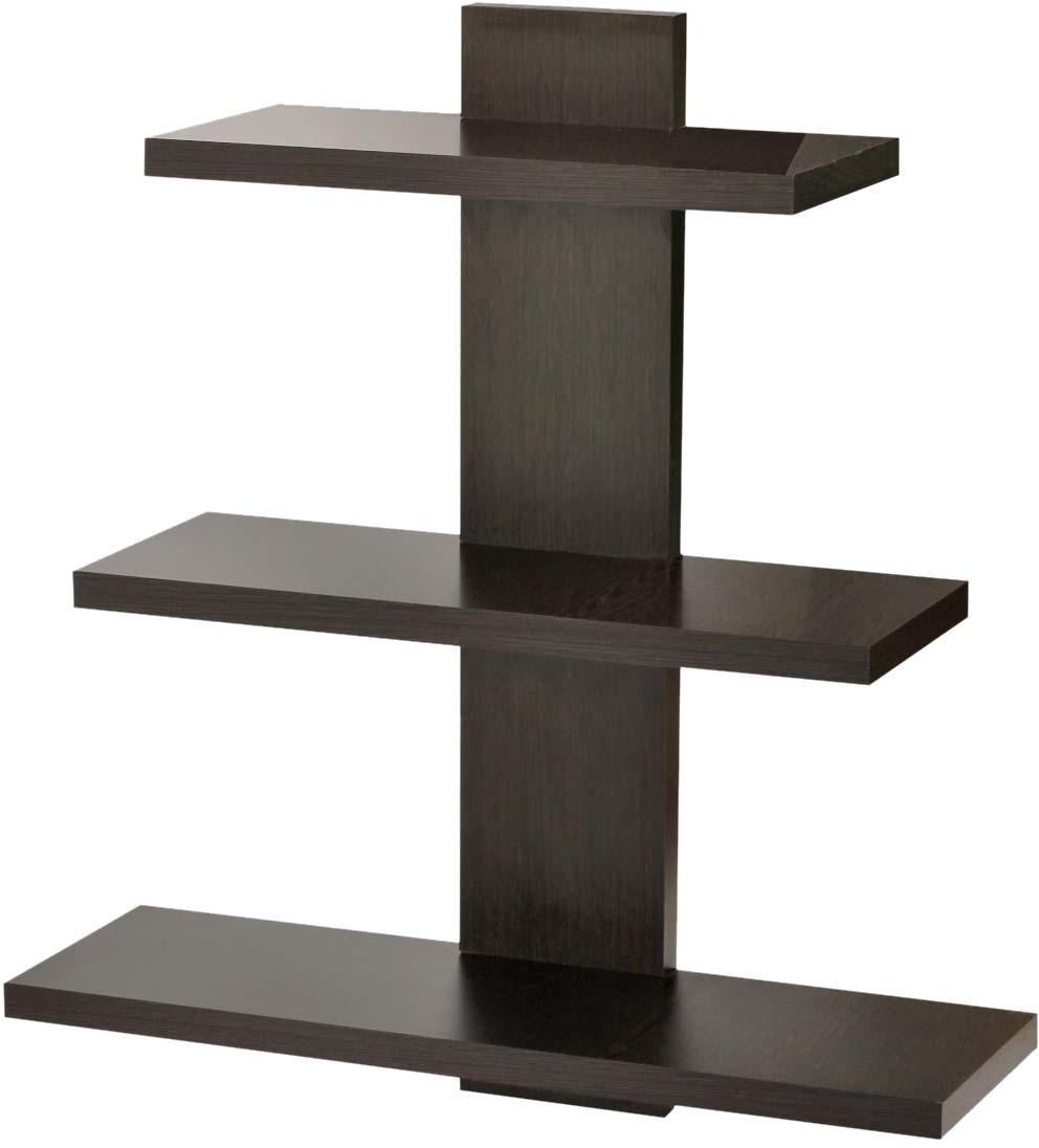 View Bluewud Phelix Engineered Wood Open Book Shelf(Finish Color - Wenge) Furniture (Bluewud)