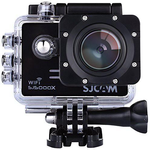 SJCAM Microware SJCAM SJ5000 X ELITE (Black) Adjustable Viewing Angle: 170� 140° 110° & 70° Sports & Action Camera(Black)