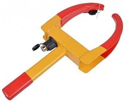 Autosun Universal Yellow Anti Theft Car Wheel Tyre Lock Clamp Wheel Lock