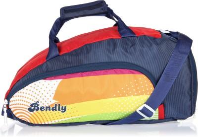 Bendly Aero (Expandable) Gym Bag(Blue)