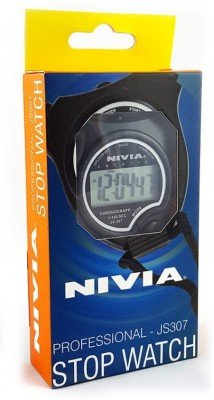 Nivia Digital Stop Watch JS-307(Black)