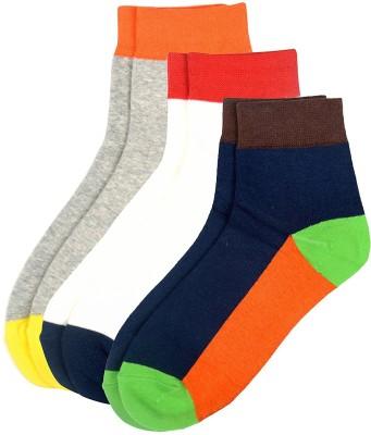 Viral Girl Men & Women Solid Ankle Length Socks(Pack of 3)