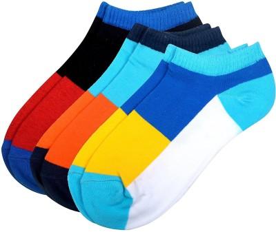 Viral Girl Men & Women Solid Low Cut Socks(Pack of 3)