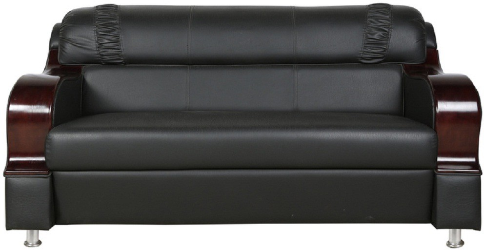 View PARIN Engineered Wood Sectional BLACK Sofa Set Furniture (Parin)