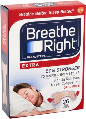 Breathe Right 10255 Anti-snoring Device(Nasal Strip)