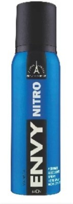 ENVY NITRO Deo 130 Ml Deodorant Spray - For Men (120 ml) Perfume Body Spray - For Men(120 ml)