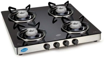 Glen Glen 1043GT 4 Burner Gas Stove Glass Manual Gas Stove(4 Burners)
