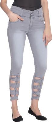 Broadstar Slim Women Grey Jeans at flipkart