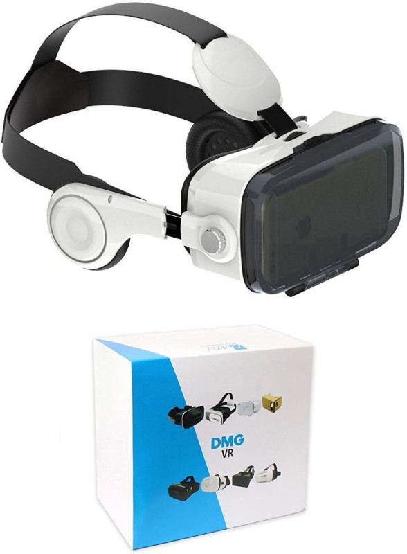 DMG Virtual Reality Headset 3D Glasses VR BOX with Headphone...