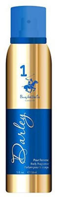 Beverly Hills Polo Club 1 Darley Body Spray - For Women(150 ml)