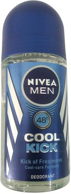 Nivea Cool Kick Deodorant Roll-on - For Men(50 ml)