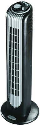 Oster Bionaire BT14BS Slim Air Circulating Tower Fan 3 Blade Tower Fan(Black)