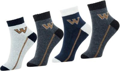 Neska Moda Men Solid Ankle Length Socks(Pack of 4)