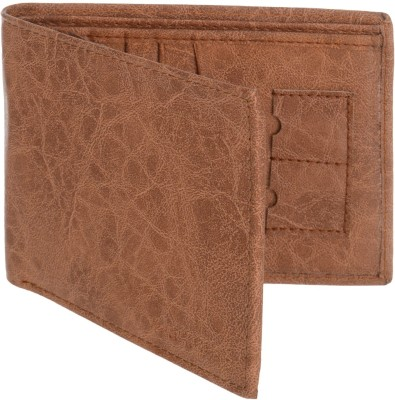 MARKQUES Men Tan Artificial Leather Wallet(11 Card Slots)