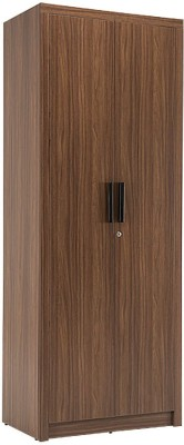 Durian ROBINSON Engineered Wood 3 Door Wardrobe(Finish Color - Walnut)