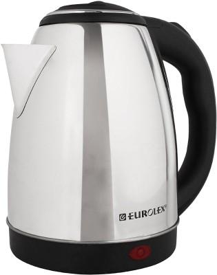 Eurolex EK14155 Electric Kettle(1.8 L, Black, Silver)