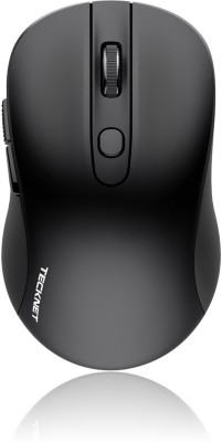 Tecknet M001 Pure Wireless Mouse Wireless Optical  Gaming Mouse(Bluetooth, Black) at flipkart