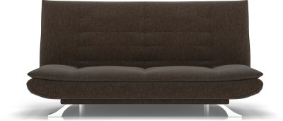 Urban Ladder Edo Sofa Cum Bed Double Engineered Wood Sofa Bed(Finish Color - Brown Mechanism Type - Fold Out)