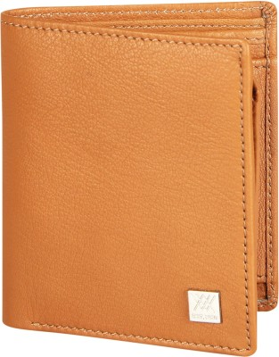 Aditi Wasan Men Tan Genuine Leather Wallet(4 Card Slots)