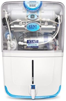 Kent Prime Tc 9 L RO + UV +UF Water Purifier(White)