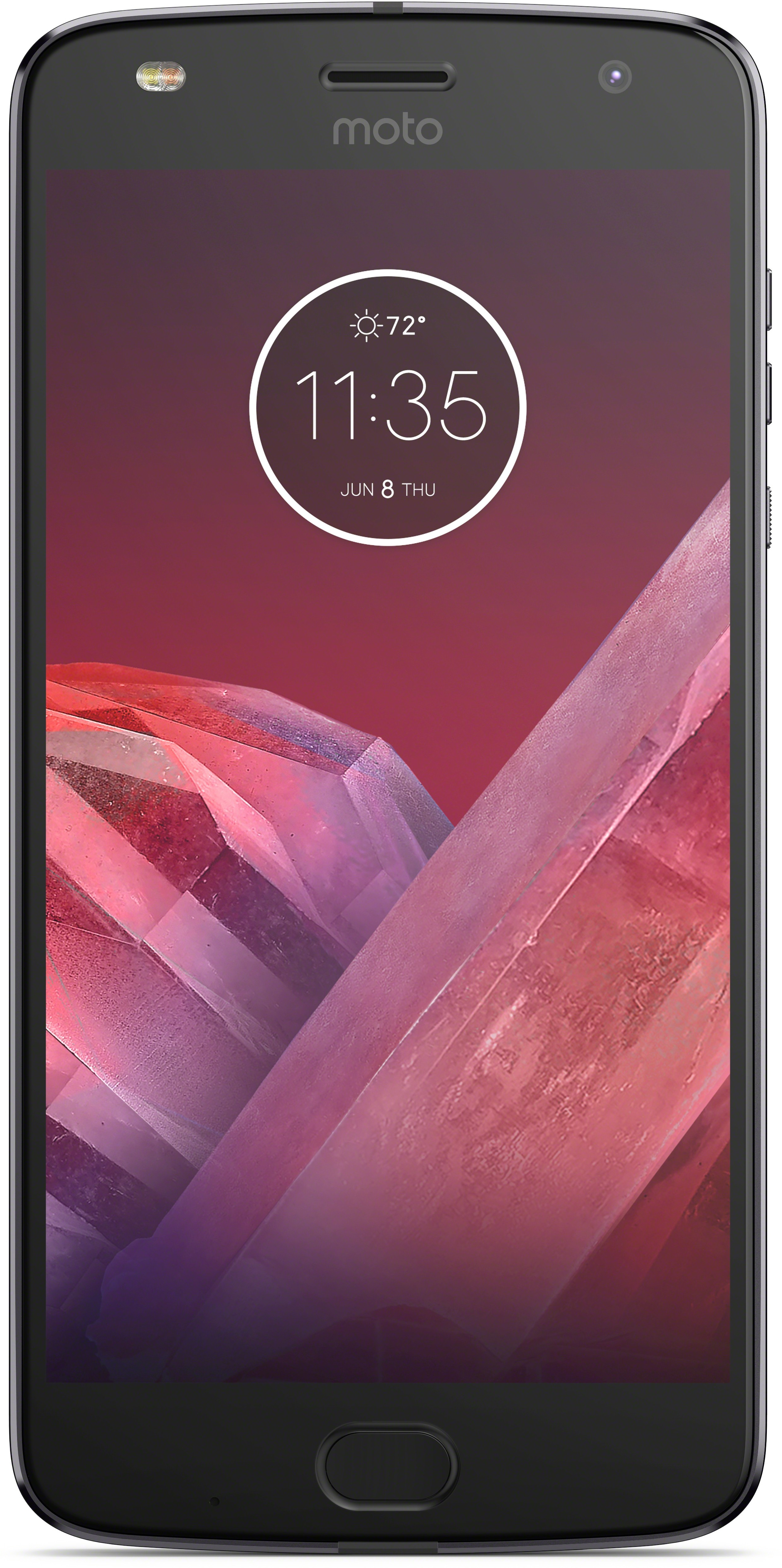 View Moto Z2 Play (Lunar Gray and Black, 64 GB)(4 GB RAM) Mobile Price Online(Motorola)
